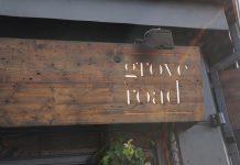 Grove Road Cafe Dublin 6 Sign