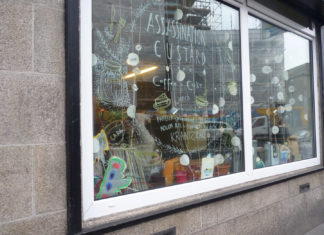 Assassination Custard Dublin Window