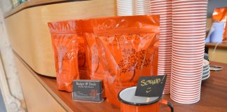 Badger and Dodo Coffee Tipjar