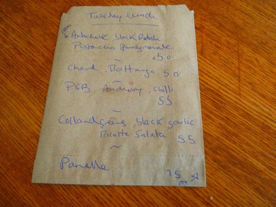 Assassination Custard Cafe Dublin 8 Menu