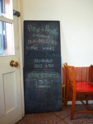 Assassination Custard Cafe Dublin 8 Blackboard